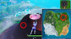 where to find five highest elevations fortnite