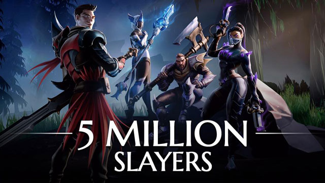 Dauntless Currently Boasts Over Five Million Players
