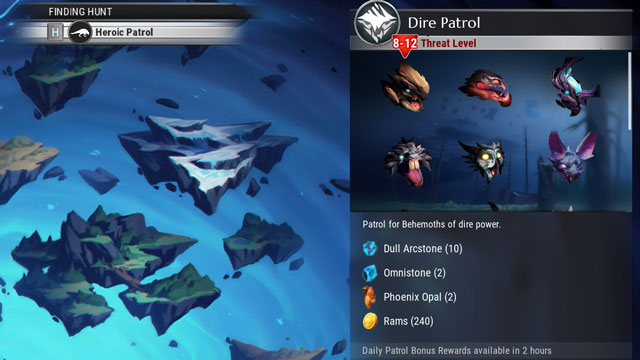 Dauntless Patrols - How to Unlock & What They Are