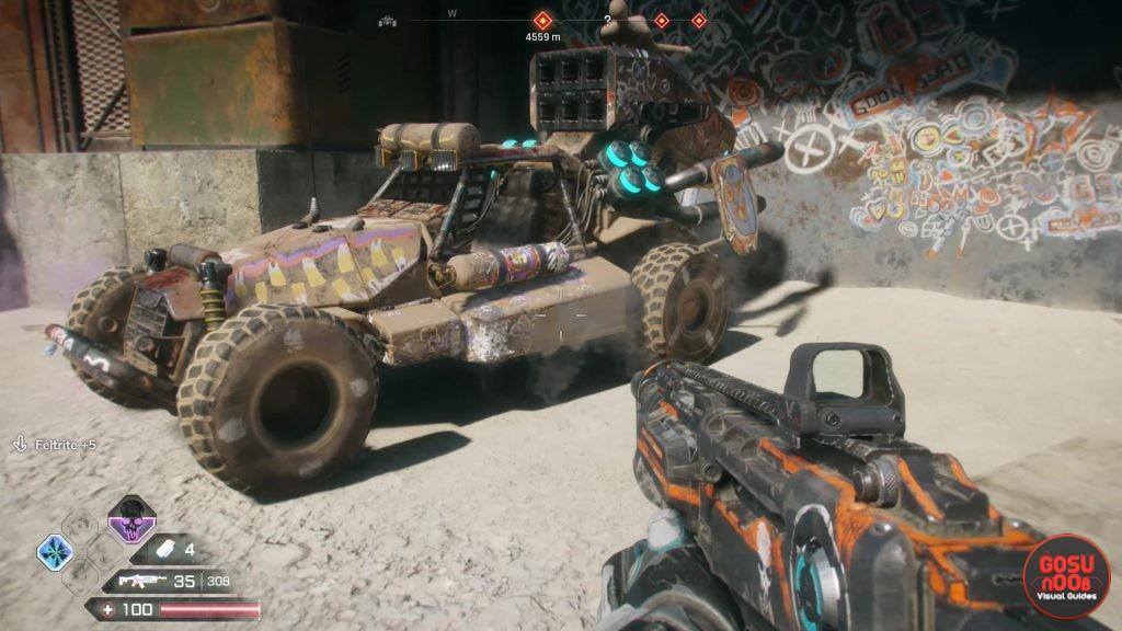 Rage 2 Vehicle Locations - Bike, Monster Truck, Tank, Combat Vehicle