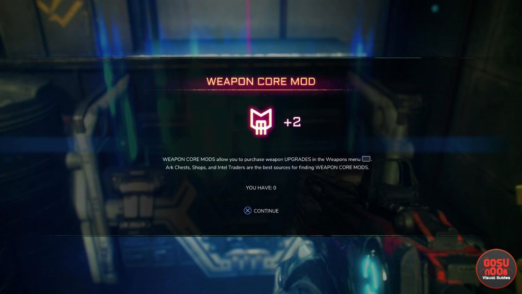Rage 2 Weapon Core Mod Locations