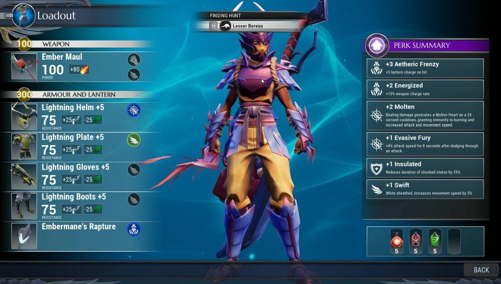 dauntless best armor for dealing damage
