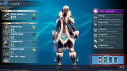 dauntless how to equip barrage grenade