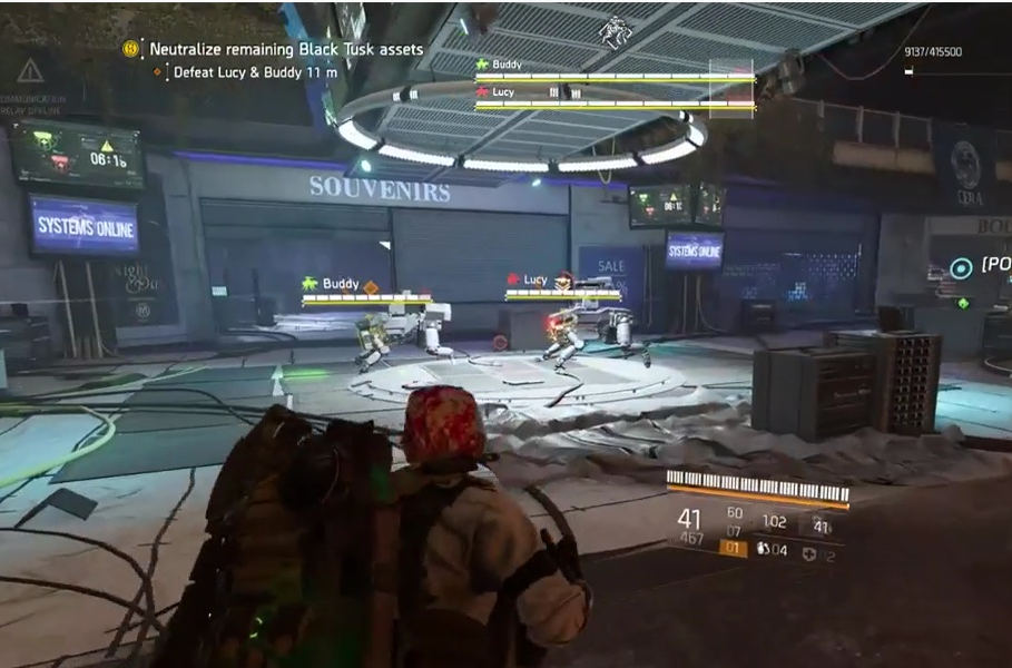 division 2 lucy buddy third raid boss