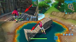 fortbyte 17 location fortnite br where to find wooden fish building
