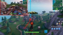 fortnite battle royale junk junction treasure map signpost