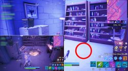 hidden chest location fortnite season 9 john wick house