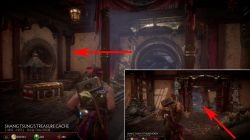 how to find jacqui briggs chest mk11 krypt shang tsung throne room location