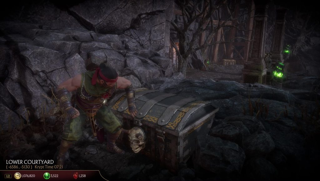 mk11 scorpion fire chest locations how to open