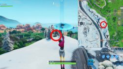 oversized phone location fortnite season 9 weekly challenge
