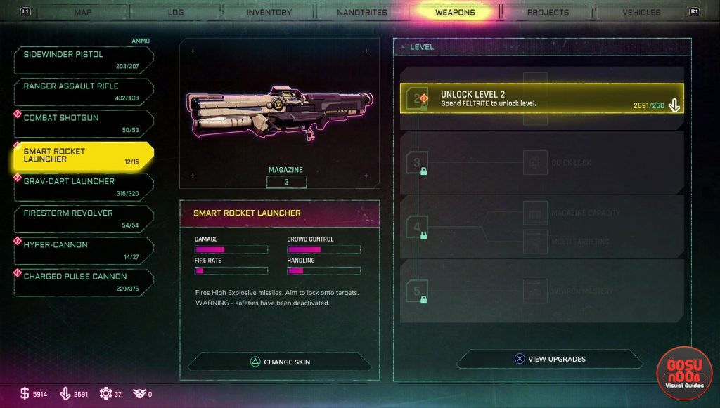 rage 2 smart rocket launcher how to get