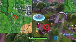 where to find fortnite giant dancing fish trophy location season 9 weekly challenge