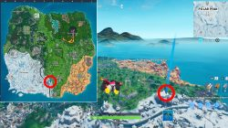 where to find oversized phone fortnite season 9 week 2 challenge