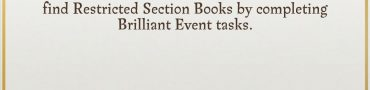 Restricted Section Books Harry Potter Wizards Unite