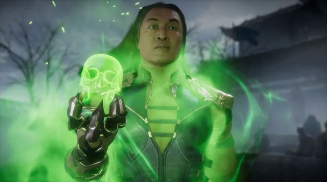 Mortal Kombat 11 Shang Tsung Reveal Trailer Confirms DLC Characters