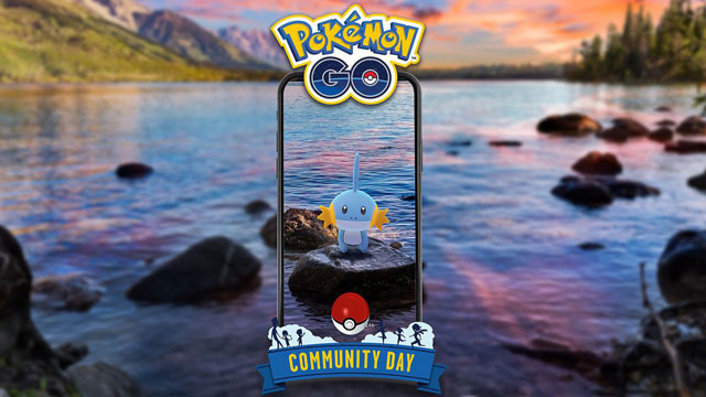 Pokemon Go Community Day in July Will Revolve Around Mudkip
