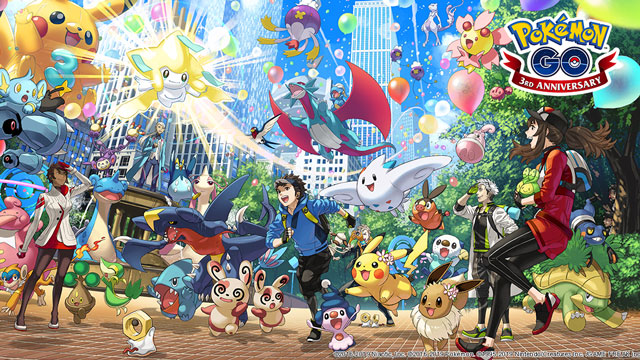 Pokemon Go Third Anniversary Event Details Revealed