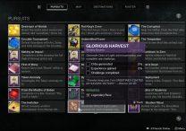 destiny 2 glorious harvest
