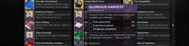destiny 2 glorious harvest