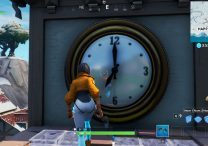 fortnite br visit different clocks