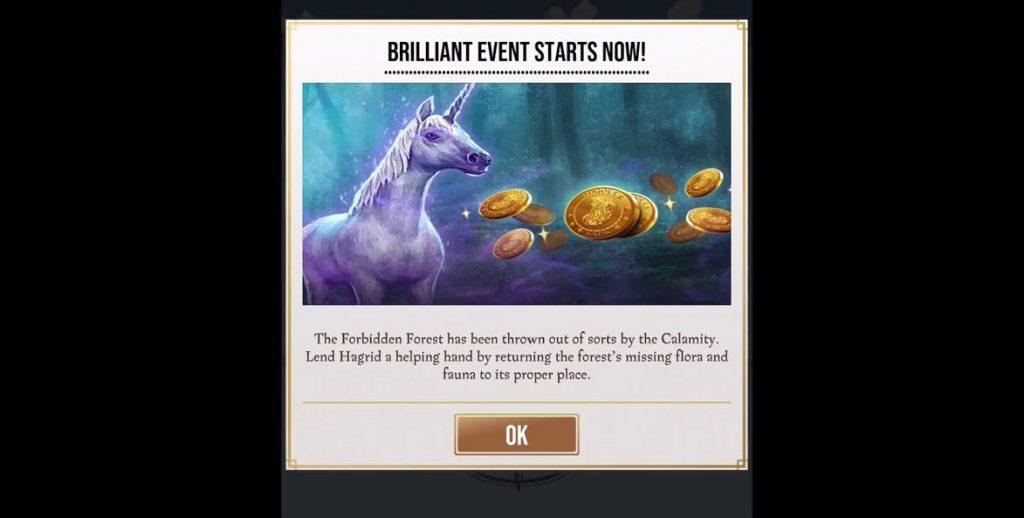 harry potter wizards unite brilliant event tasks rewards
