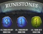 harry potter wizards unite runestones