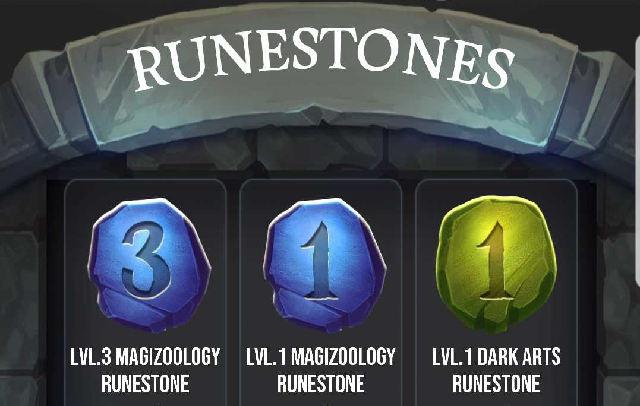 harry potter wizards unite runestones