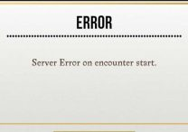 harry potter wu server error on encounter start