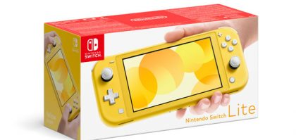 Nintendo Switch Lite, the Dedicated Handheld Version, Announced