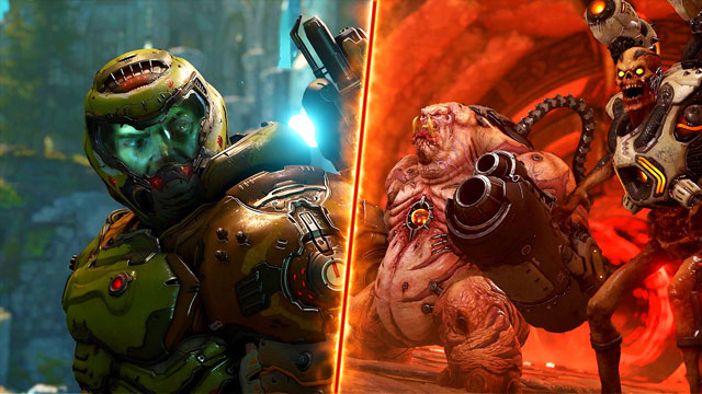 DOOM Eternal Battlemode Multiplayer Gameplay Video Released