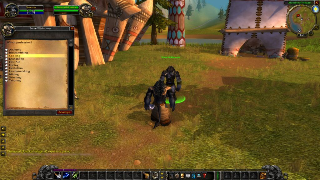 WoW Classic Early Skinning, Mining and Other Profession