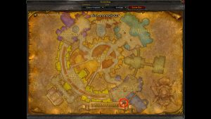wow classic ironforge weapon master location
