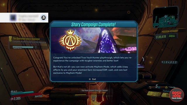 Borderlands 3 Endgame - What to Do After Completing the Game