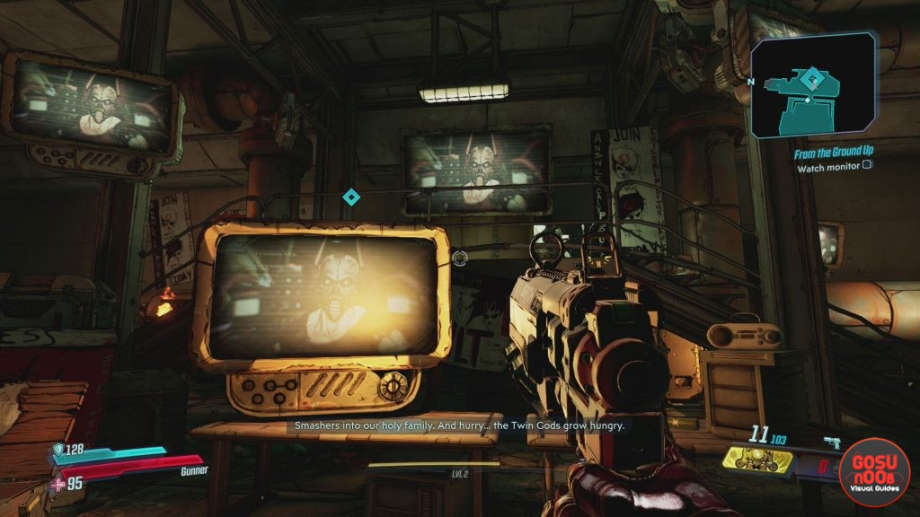 Borderlands 3 From the Ground Up Watch Monitor Bug Solution