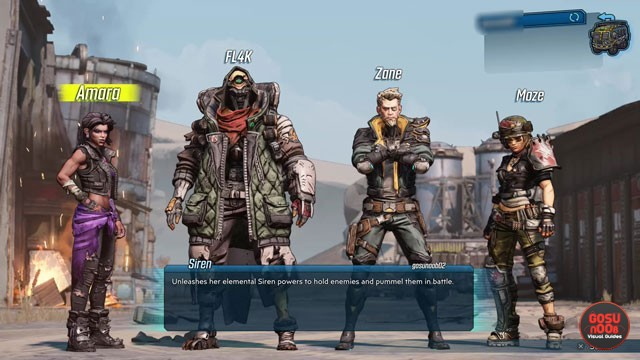 Borderlands 3 How to Start a New Character