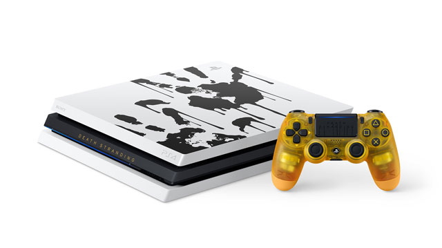 Death Stranding Limited Edition PS4 Pro Revealed