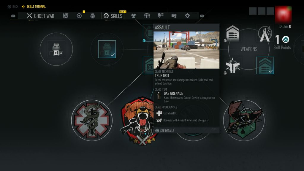 Ghost Recon Breakpoint Classes - Assault, Panther, Sharpshooter, Medic