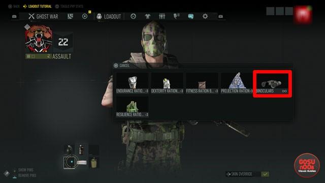Ghost Recon Breakpoint How to Equip Binoculars