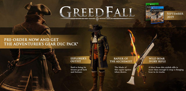 GreedFall Pre-Order Bonus Adventurer's Gear DLC - Where to Find