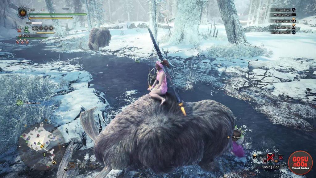 How to Ride Animals in MHW Iceborne