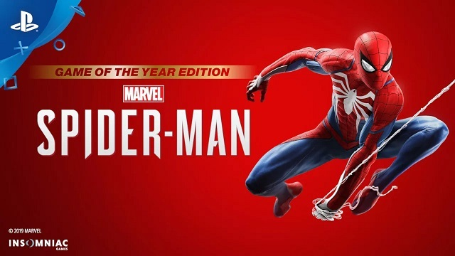 Spider-Man PS4 Game of the Year Edition Released