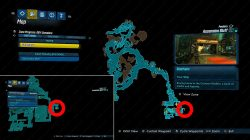 ascension bluff red chest location where to find borderlands 3