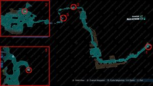 bl3 neon arterial typhon log locations