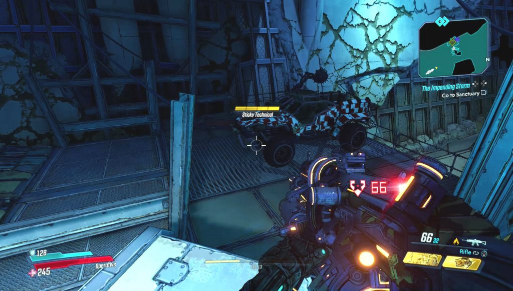 borderlands 3 hijack target locations how to get rare vehicle parts