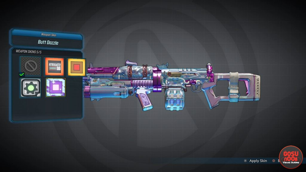 borderlands 3 how to apply weapon skins