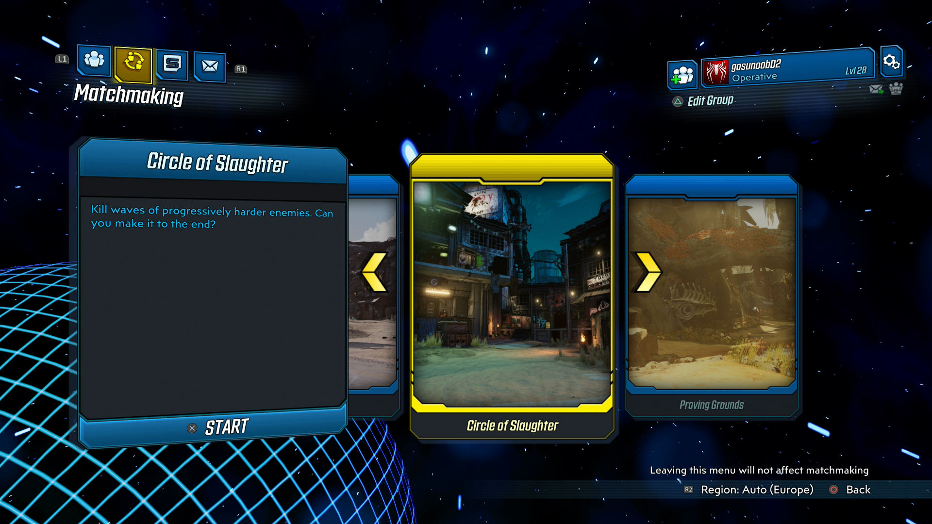 Borderlands 3 How To Get To Circle Of Slaughter