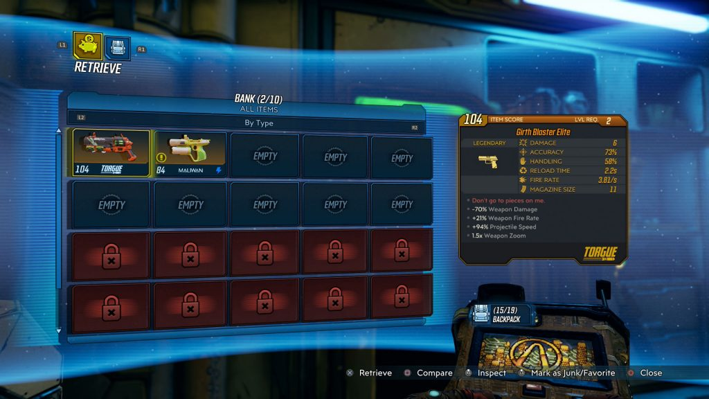 borderlands 3 how to transfer loot between characters