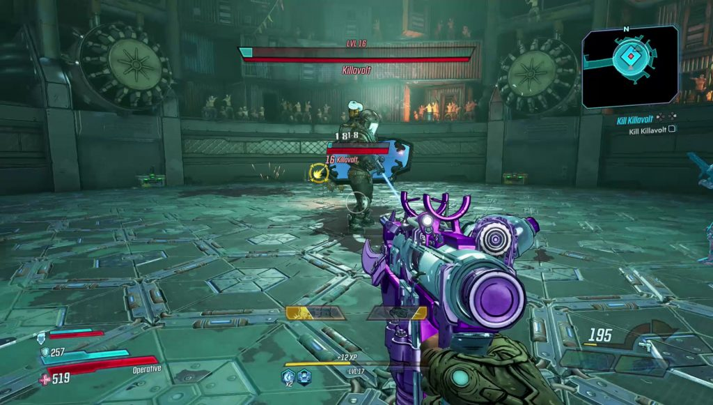 borderlands 3 killavolt boss fight solo