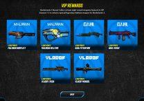 borderlands 3 where to find vip weapons rewards