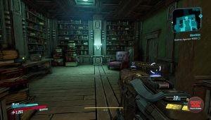 hidden skull bookshelf door jakobs estate how to solve & open puzzle borderlands 3